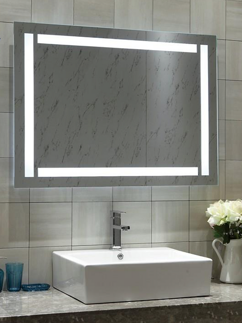 Touch Light Frameless Lighted Mirror