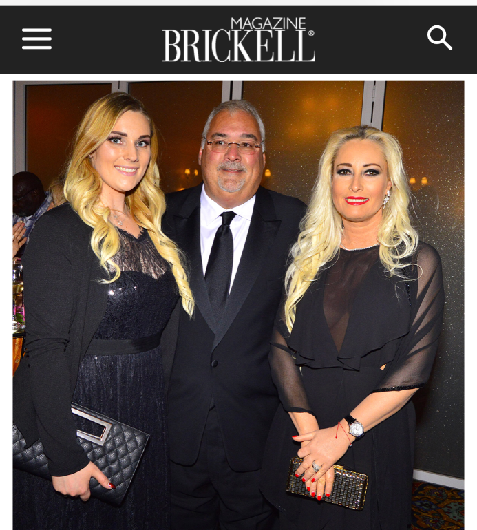 Adina Brunetti in Brickell Magazine
