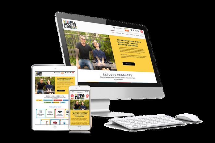 Accessible website development