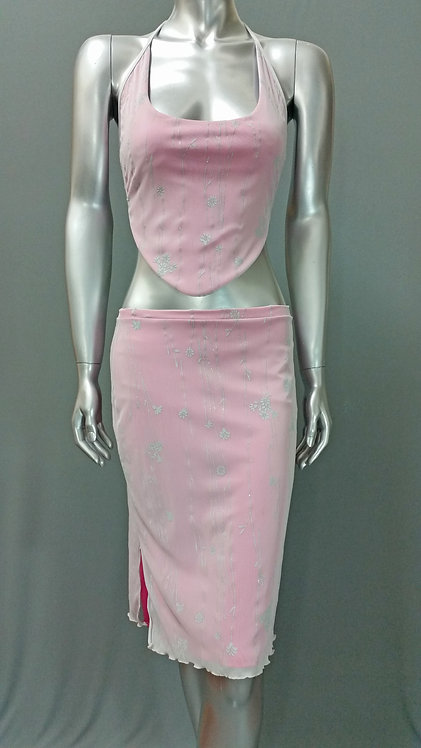 Pink 2 Piece Outfit - 6006