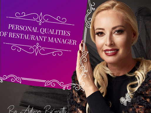 Personal Qualities of Restaurant Managers