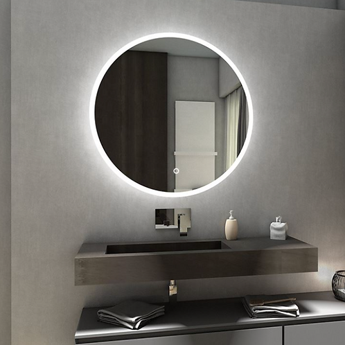 Modern LED Lights Around Mirror