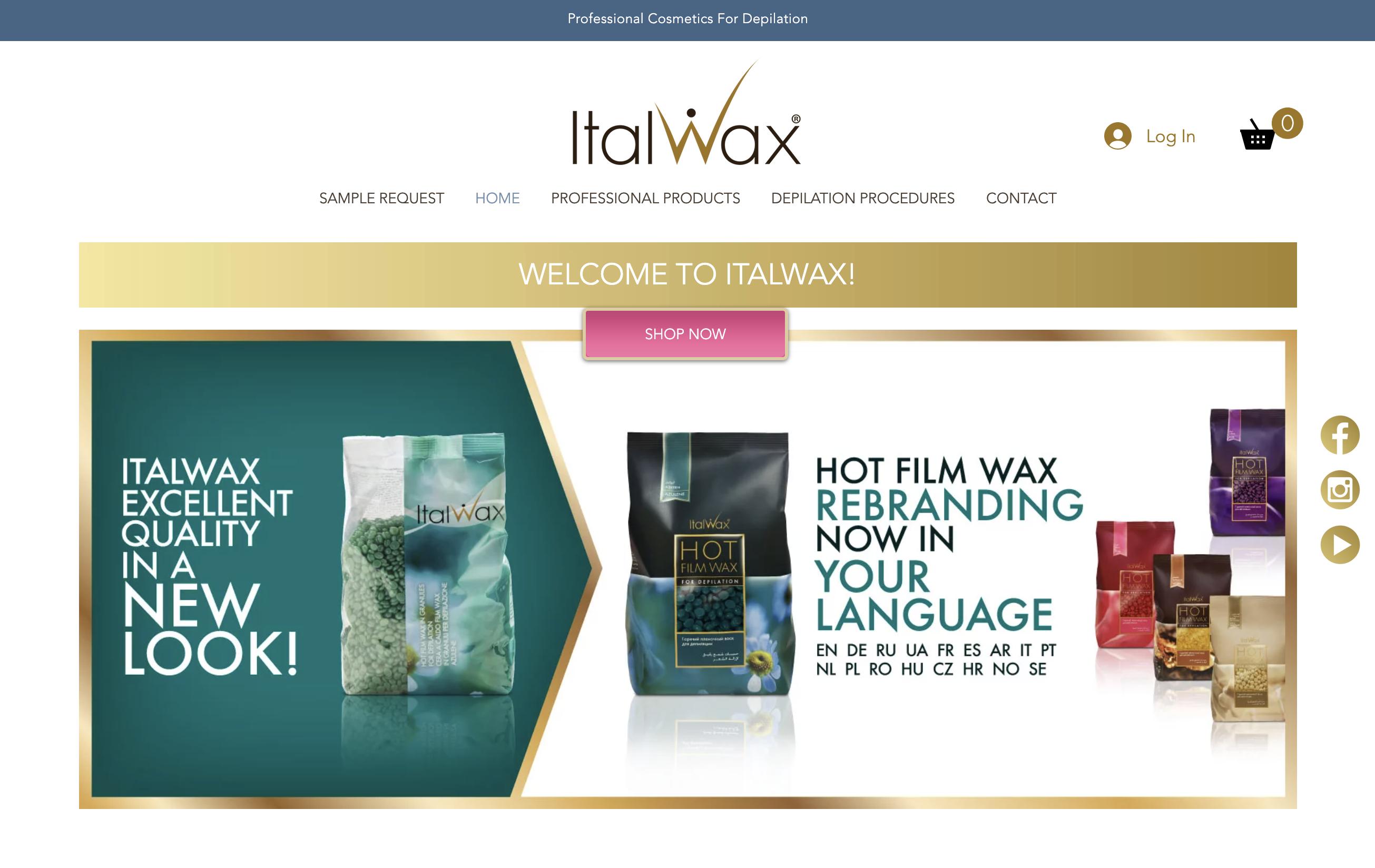 Italwax Online Store