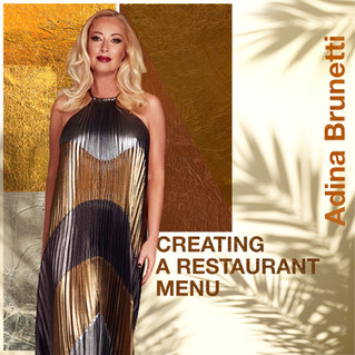 Creating a Restaurant Menu