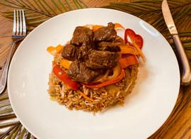 Junior's Bistro Mongolian Beef