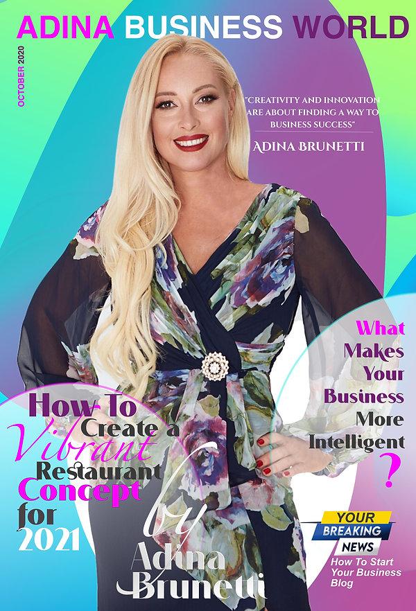 Adina Brunetti: Adina Business World October 2020