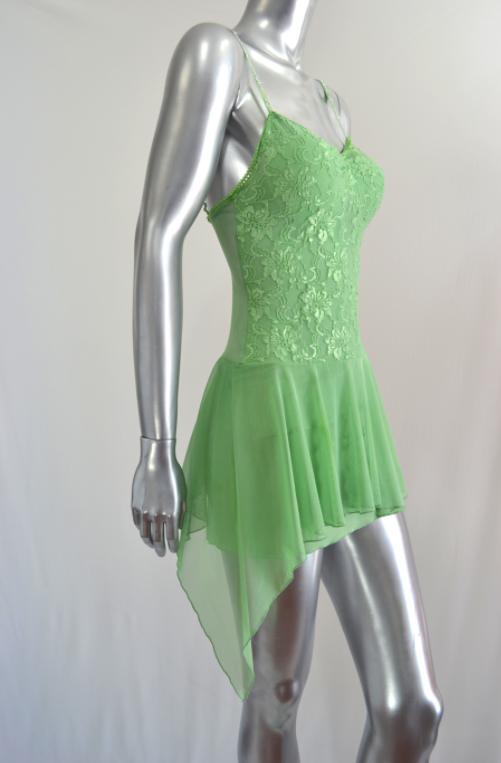 Green Summer Party Dress