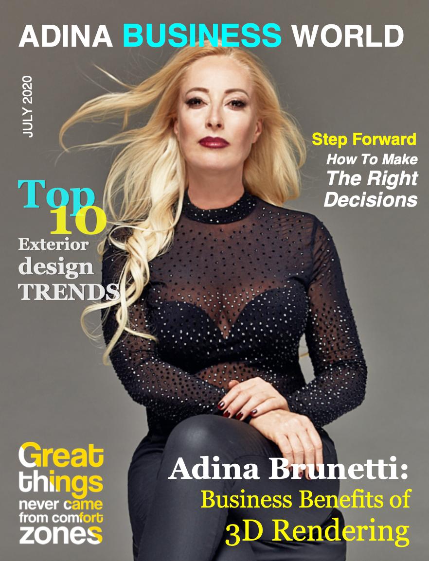 Adina Brunetti in Adina Business World about 3D Rendering