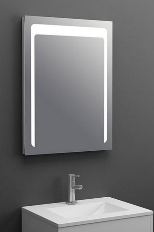 Bath Frameless Lighted Mirror