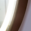 Thumbnail: Leather Strip Hanging Bathroom Mirror