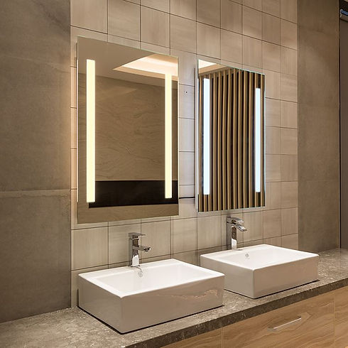 Modern Lighted Mirror