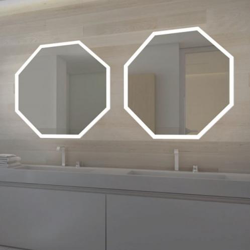 LED Frameless Lighted Mirror
