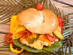 Junior's Bistro Fried Chicken Sandwich