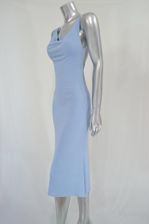 Sky Blue Dress - 4183