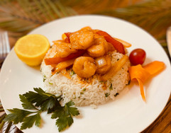 Junior's Bistro Hibachi Style Shrimp