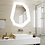 Thumbnail: Irregular LED Lighted Bath Mirrors