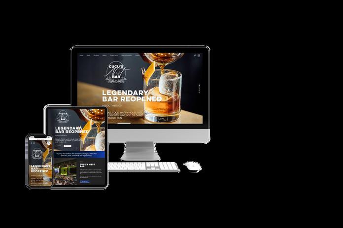 Logo & Website Design for Miami lounge