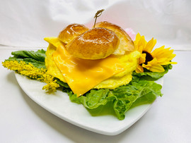 Omelette Sandwich with Cheese
