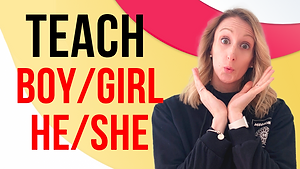 Teaching Pronouns and Gender