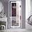 Thumbnail: LED Frameless Lighted Full Length Mirror