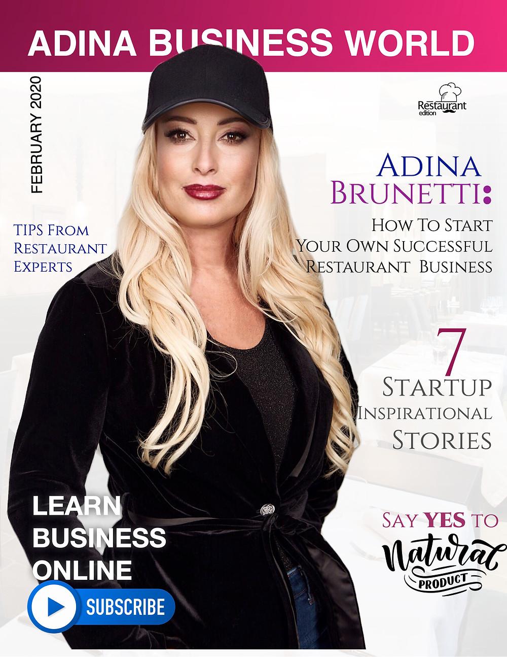 Adina Brunetti: Ideas For Your Restaurant Marketing