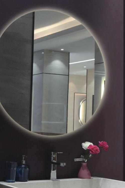 Bathroom LED Frameless Lighted Mirror