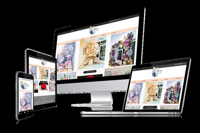 Logo & Website Design for event services
