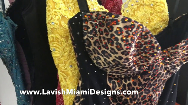 Leopard Print Corset with Swarovski Crystals