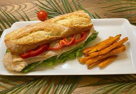 Junior's Bistro Turkey Sandwich