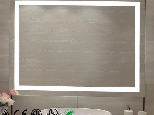 Frameless Vanity Mirror With Lights