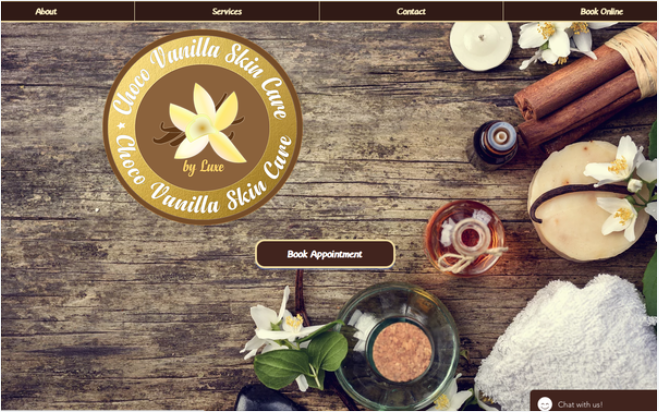 Choco Vanilla Skin Care