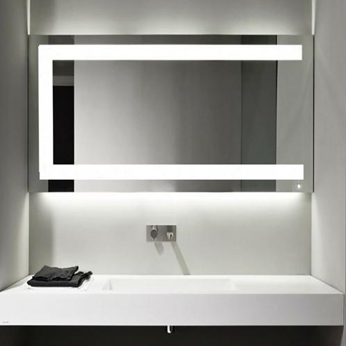 Shower Room Frameless Lighted Mirror