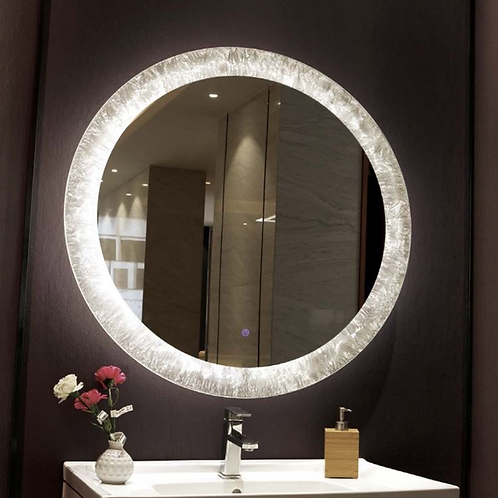 Circle Vanity Mirror With Lights