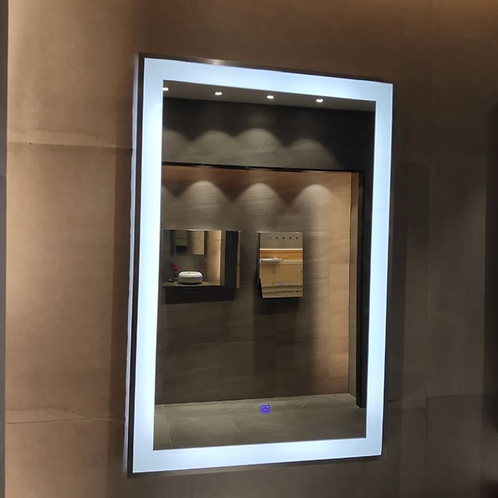 Hotel LED Framed Lighted Mirror