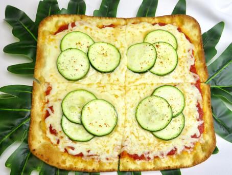 New on The Menu: Veggie Pizza at Junior's Bistro