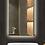 Thumbnail: Hotel Anti Fog Frameless Lighted Mirror