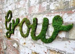 Plantastic: Moss Wall Art