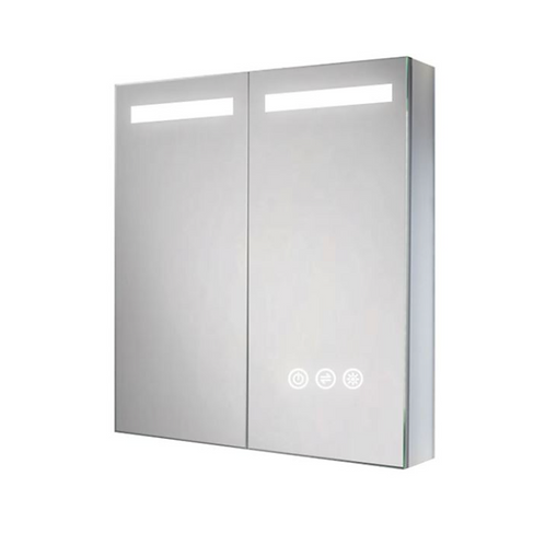 Wall Bath Lighted Mirror Cabinet