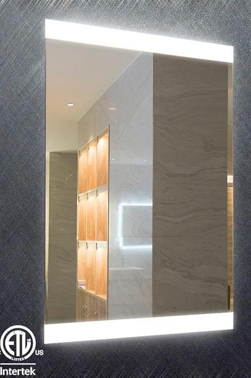 Commercial Hotel Rectangular Bath Mirrors