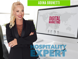Digital Marketing. Your Restaurant Website. Tips from Adina Brunetti