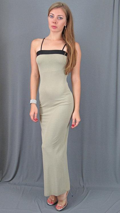 Formal Body-con Maxi Dress - 40444