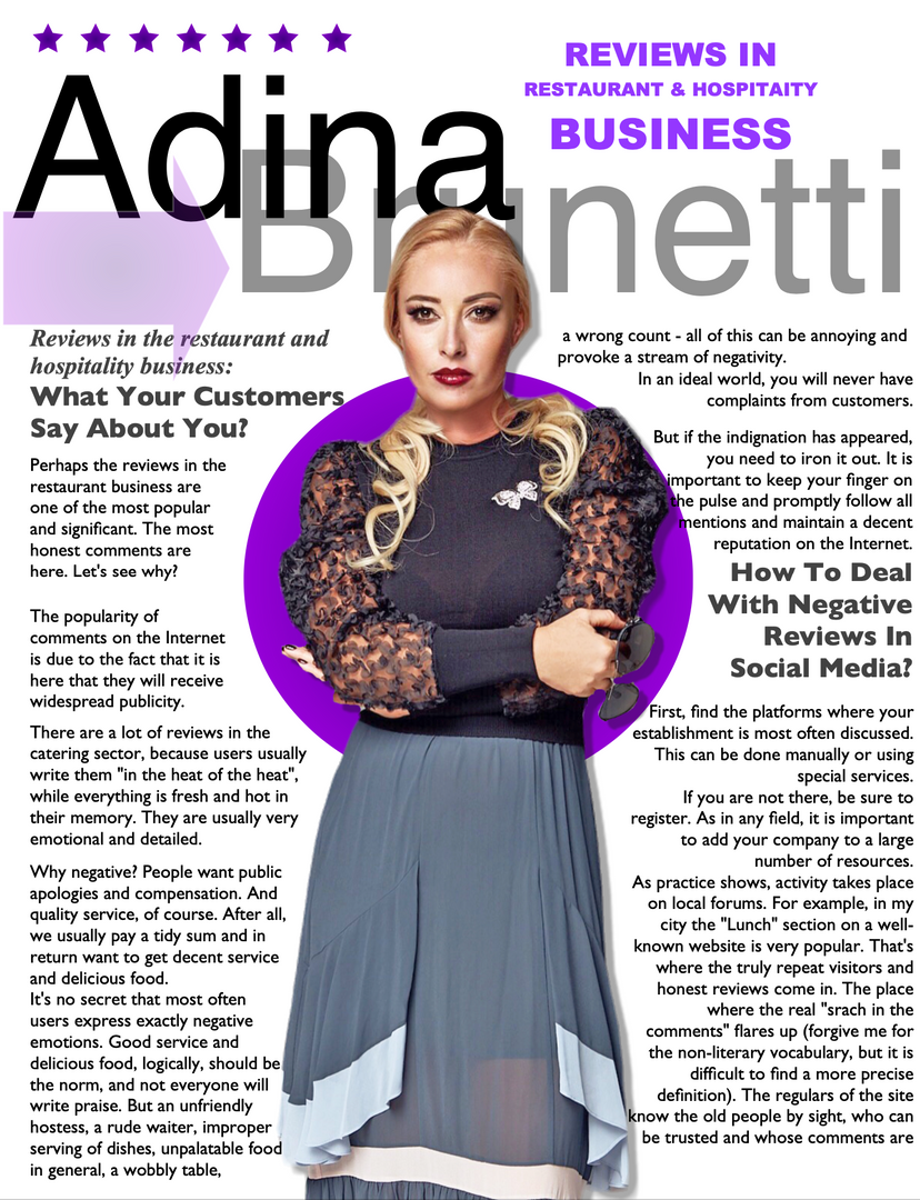 Adina Brunetti in Adina Business World