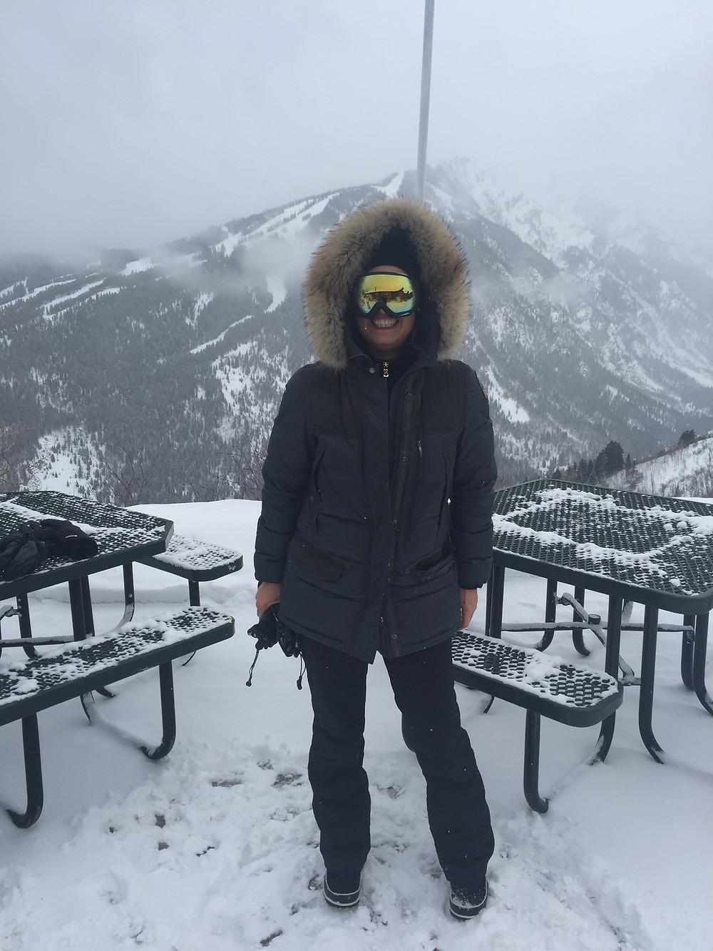 Adina Brunetti. Benefits Of Skiing