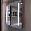 Thumbnail: LED Bathroom Frameless Lighted Mirror