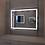 Thumbnail: Makeup Bath Frameless Lighted Mirror