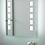 Thumbnail: Vanity Frameless Lighted Mirror
