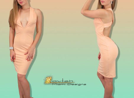 Peach Color Dresses: How to Combine and Match It