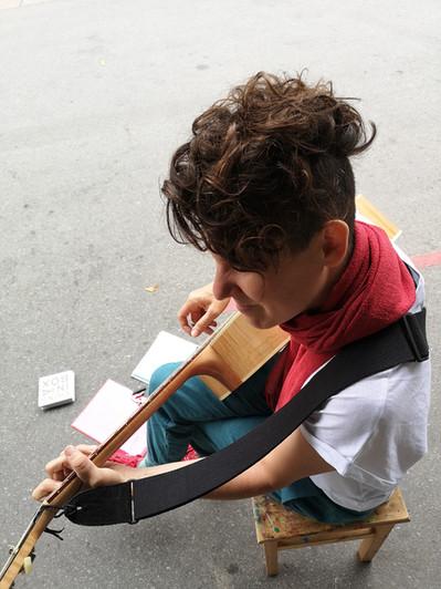 Streetart in Olten - Musik