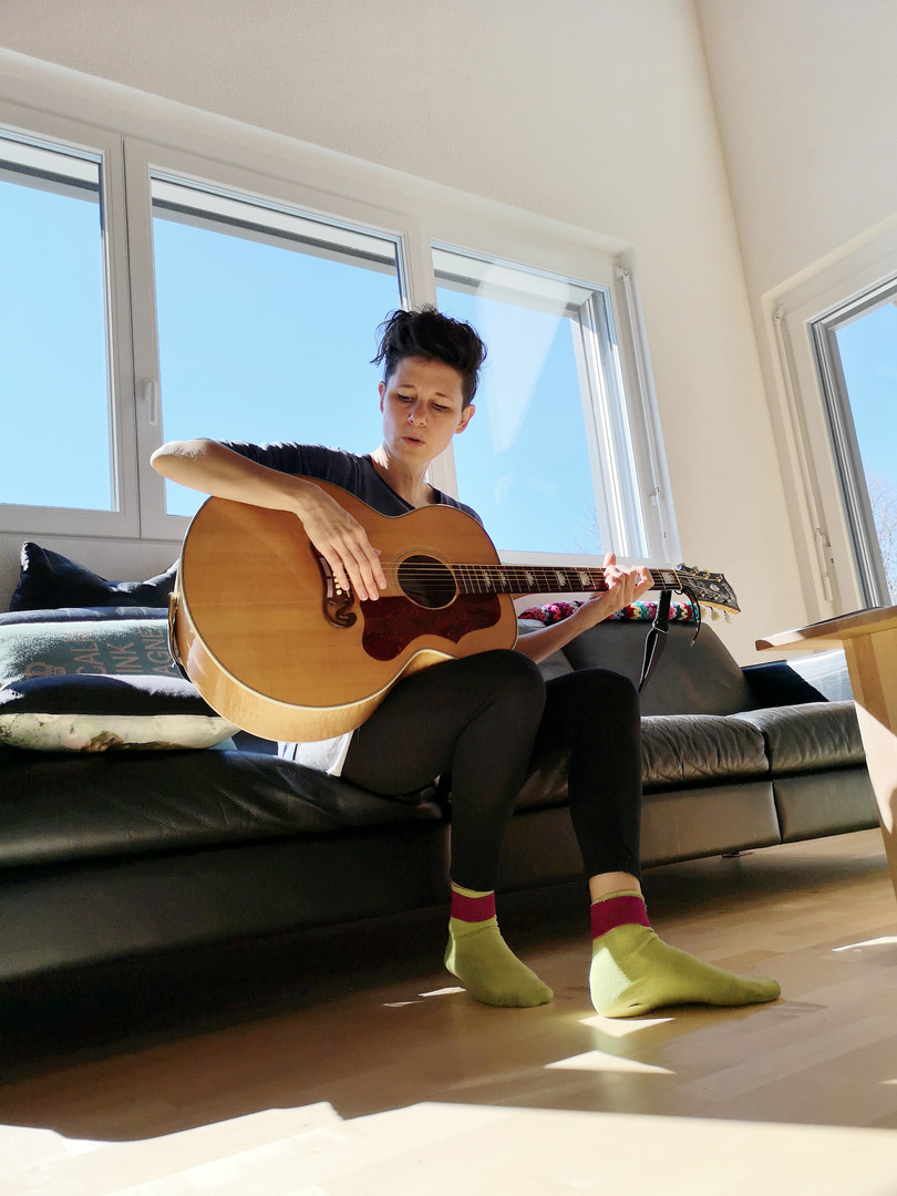 Syléna macht Songwriting