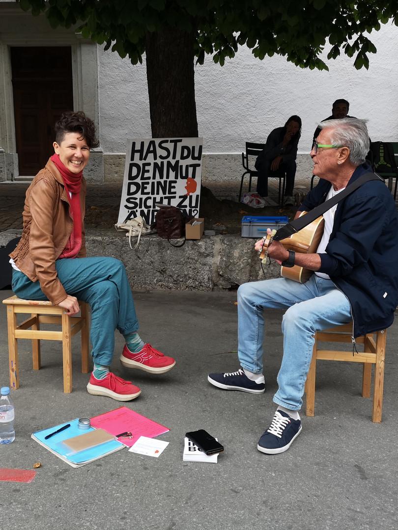 Spontane Session auf der Strasse